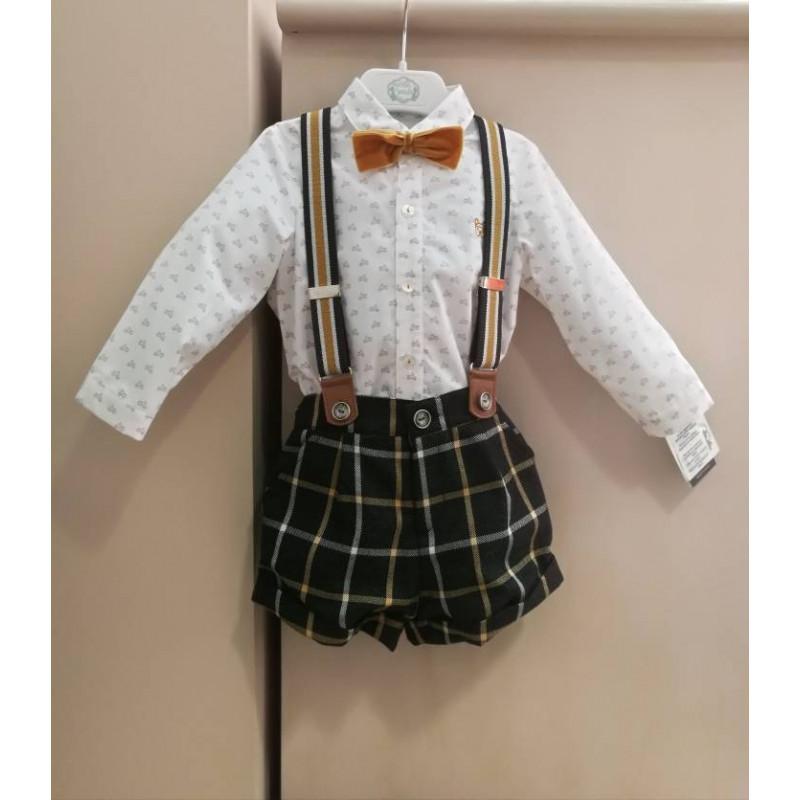 Conjunto camisa y pantalón corto