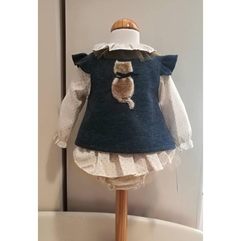 Conjunto blusa