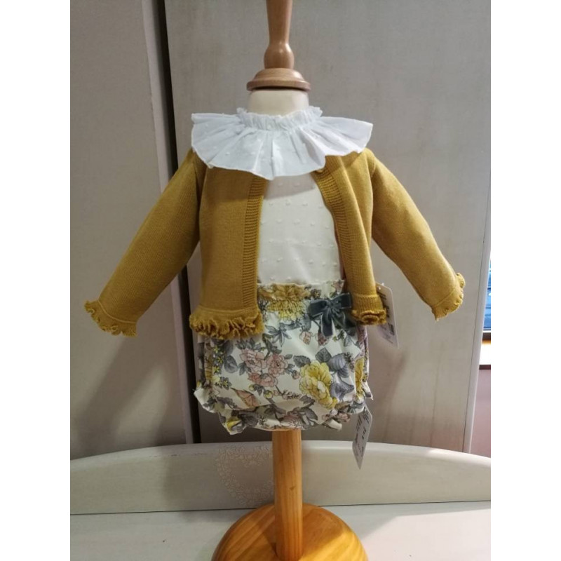 Conjunto camisa ranita y chaqueta