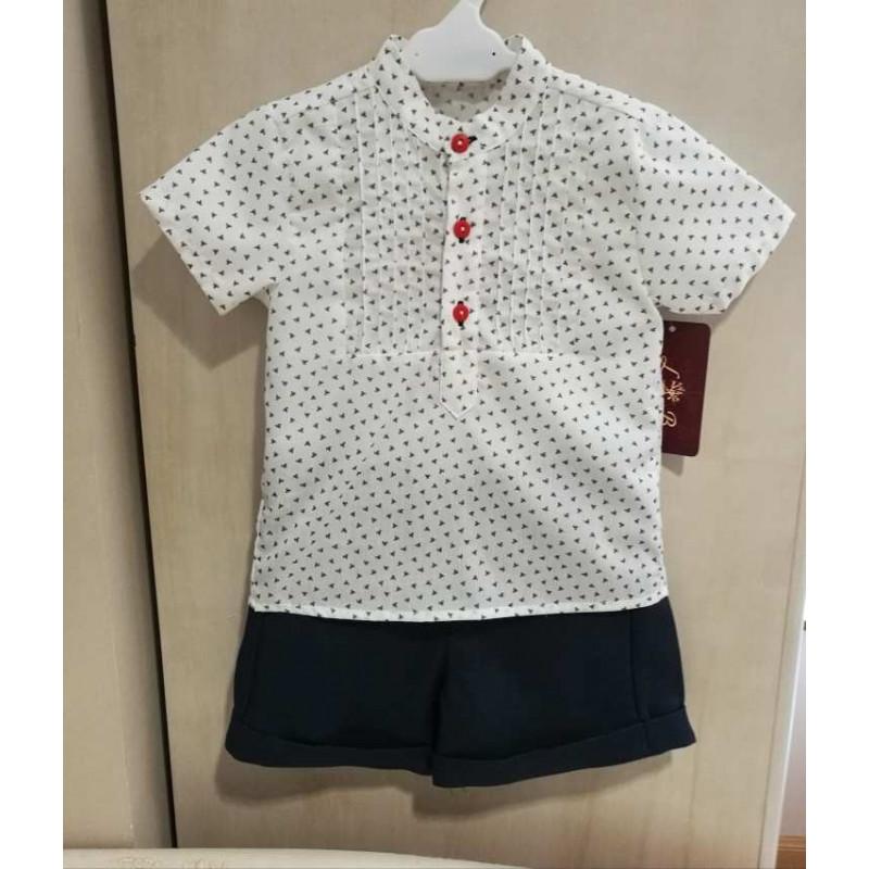 Conjunto camisa y pantal�n